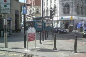 Street clutter in Liverpool